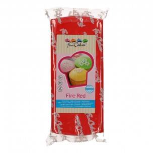 FunCakes Rolfondant -Fire Red 1 kg