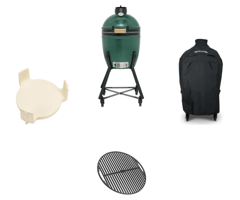 Big Green Egg Small + nest + Hoes + Conveggtor + Gietijzer Rooster