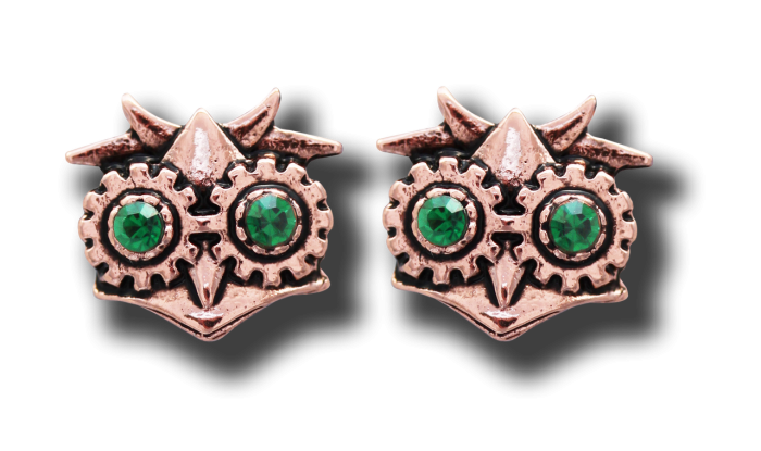 Anne Stokes earrings -Aviamore Owl-