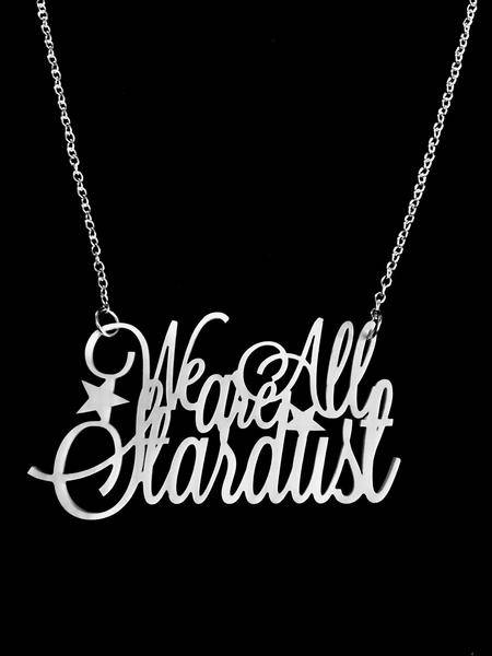 Curiology we are all stardust necklace