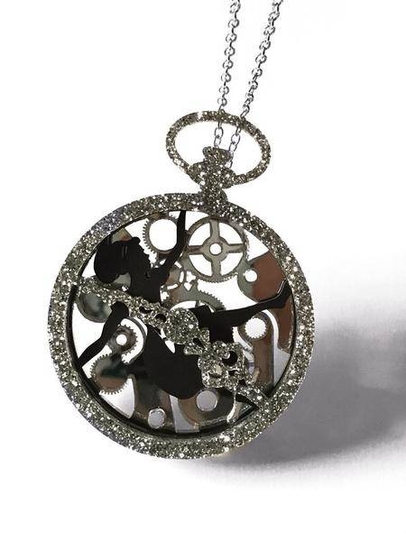 Curiology Alice in wonderland necklace -Down the rabbit hole-