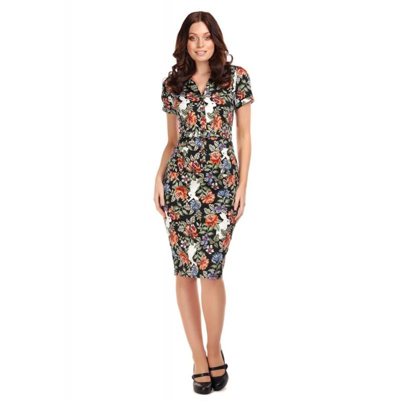 Collectif Forest floral Catherina pencildress