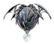 Anne stokes Cameo necklace -Once upon a time-