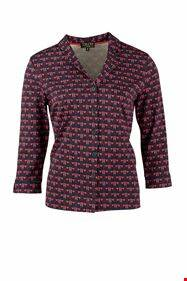 Zilch blouse, deco navy