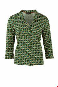 Zilch blouse, ard deco forest