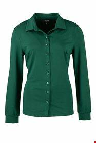 Zilch blouse pearls, forest