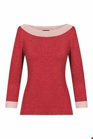 Zilch sweater boatneck, two tone blossom