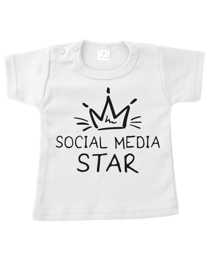 Strijkapplicatie Social media star