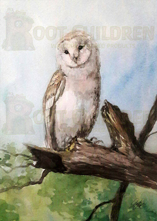 Card - Barn Owl