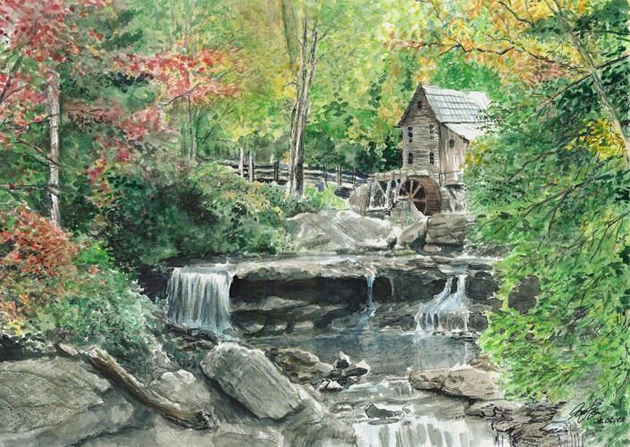 Card - Watermill