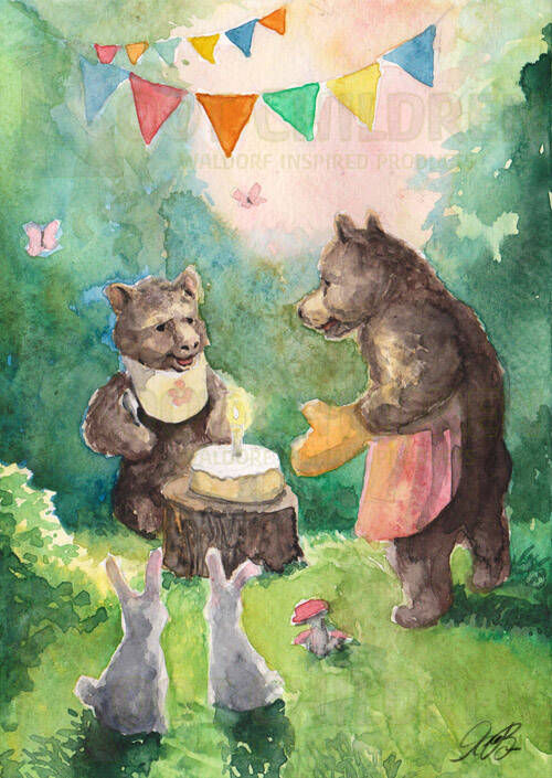Card - Bear Birthday