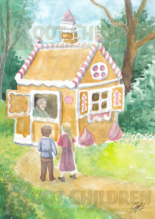 Card - Hansel and Gretel