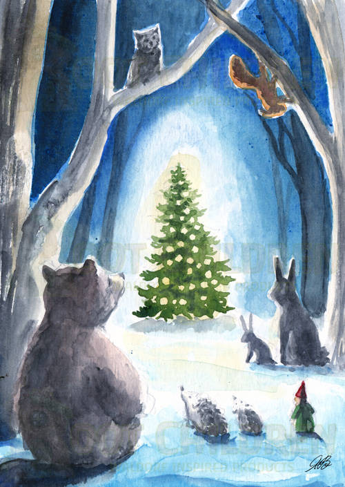 Original - Christmas in the Forest