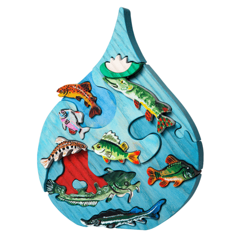 Fauna Toys - Danube Droplet Puzzle