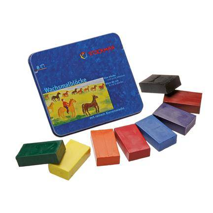 Stockmar - Beeswax Blocks 8 pcs
