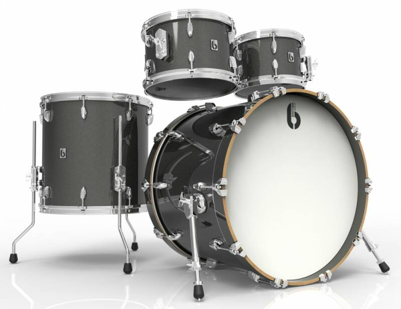 British Drum Co, Legend Fusion 22 Night Skye drumset