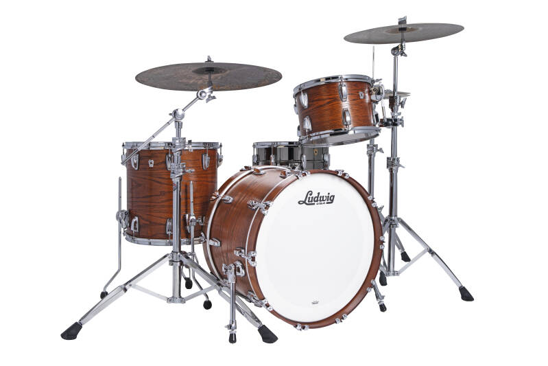 Ludwig Classic Oak, Fab Tennesee Whiskey 22""