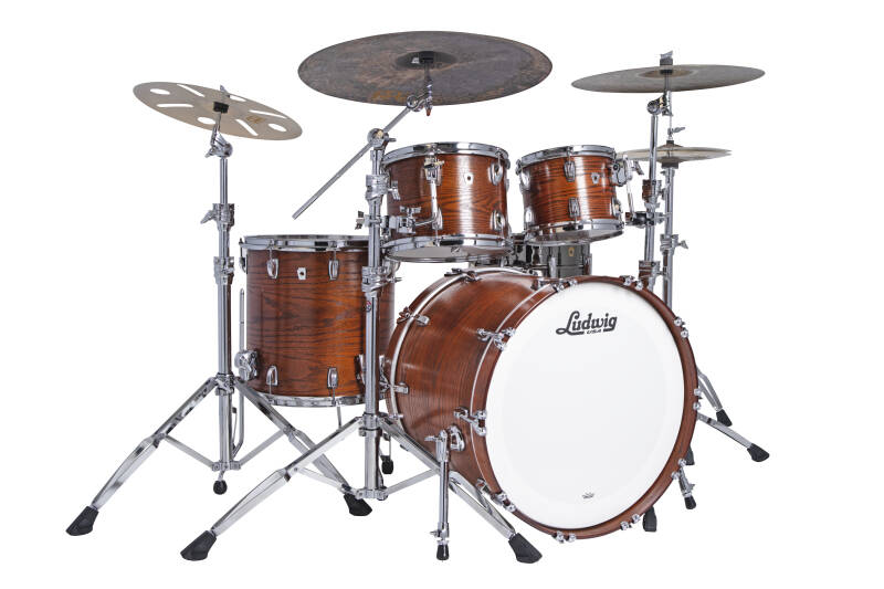 Ludwig Classic Oak L7482AXTW  Mod Tennessee Whiskey 22""