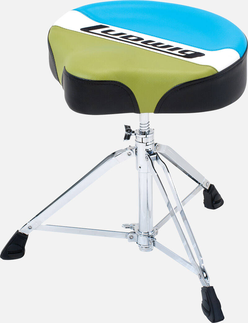 Ludiwg LAC48TH Classic Drum Throne - Saddle.