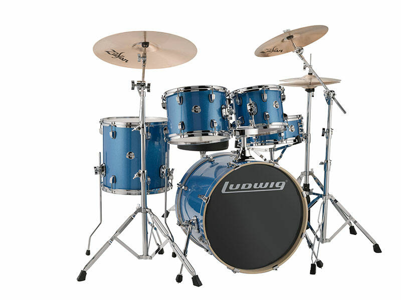 Ludwig Evolution, Blue Sparkle 5pc 20 inch