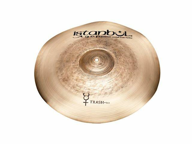 """Istanbul Agop THIT16 Traditional Series Trash Hit 16"""""""