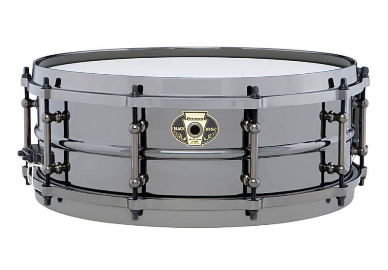 Ludwig Black Magic LW5514C Chrome Snaredrum.