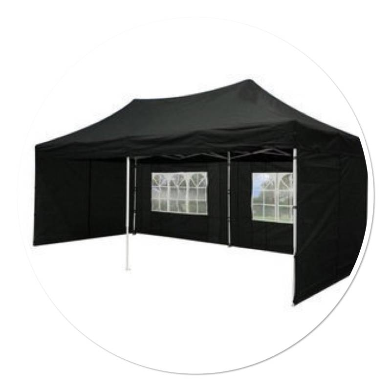 Partytent 3x6m (easy-up)
