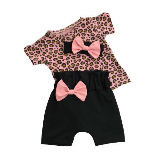 Black and Pink Leopard Happiness