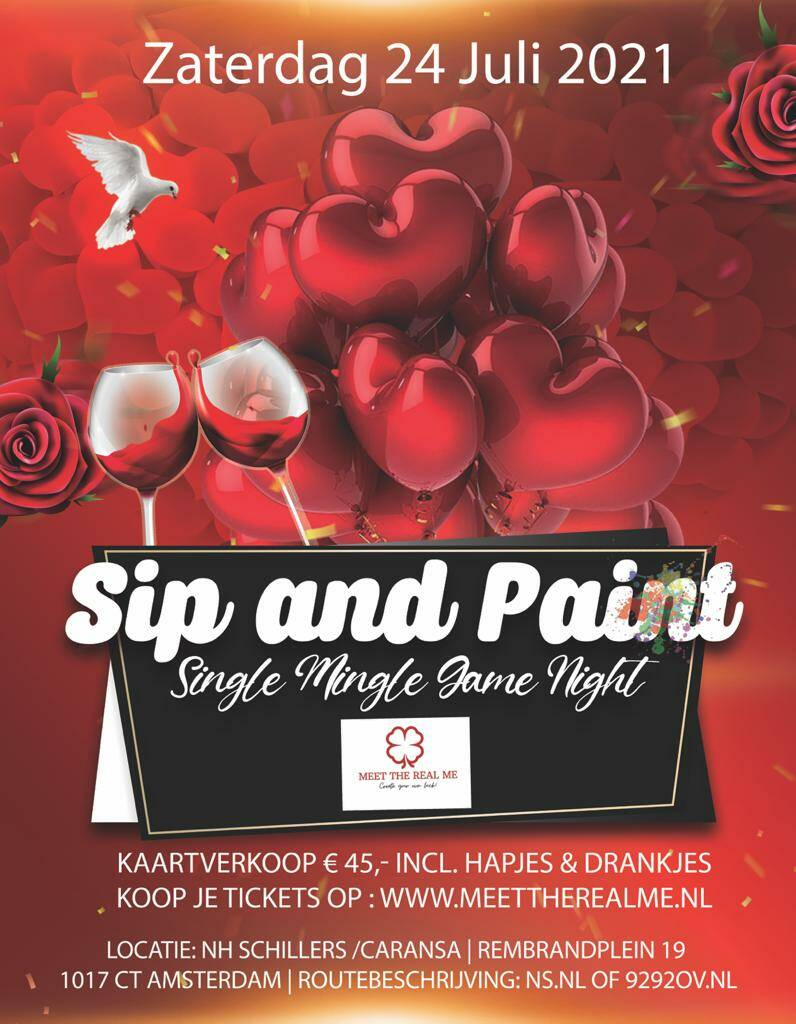 Sip and Paint Women ticket