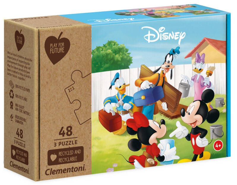 Puzzel Clementoni Mickey Mouse