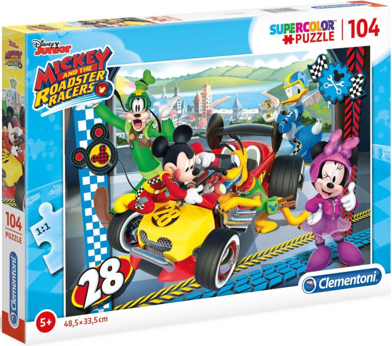 Clementoni puzzel Mickey Mouse Racer