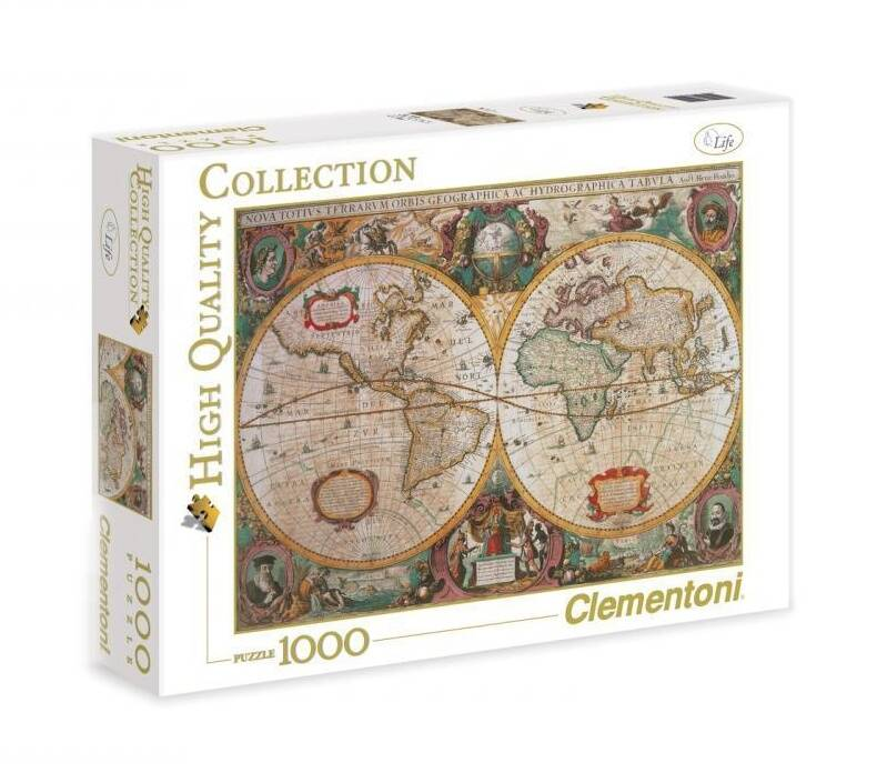 Clementoni puzzel Old Map