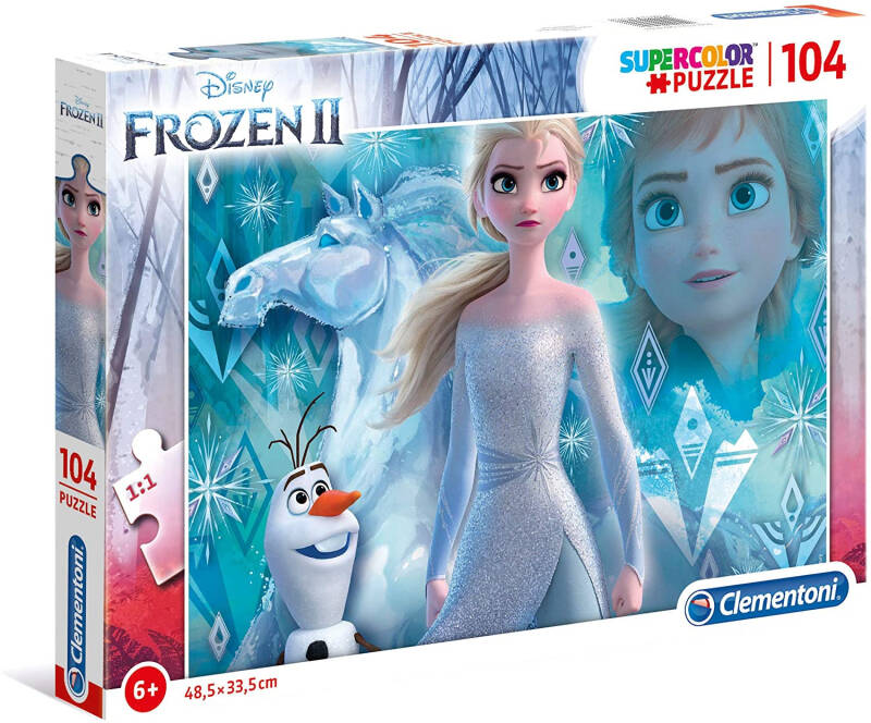 Puzzel Supercolor Frozen