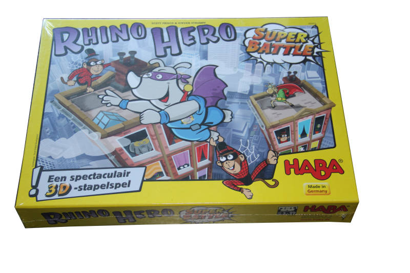 Haba Rhino Hero Supper Battle