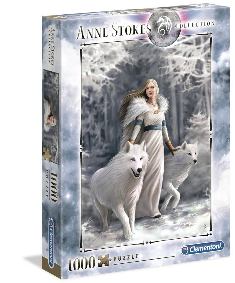 Clementoni puzzel Anne Stokes Winter Guardian