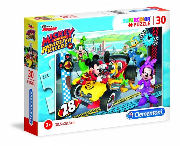 Puzzel Disney Mickey Mouse Racer