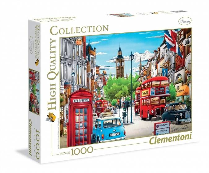 Clementoni Puzzel Londen Hight Quality Collection