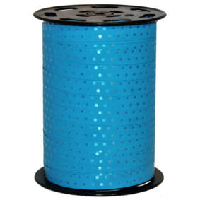 725810 Lint 10mmx225mtr Stippen (114) turquoise per rol