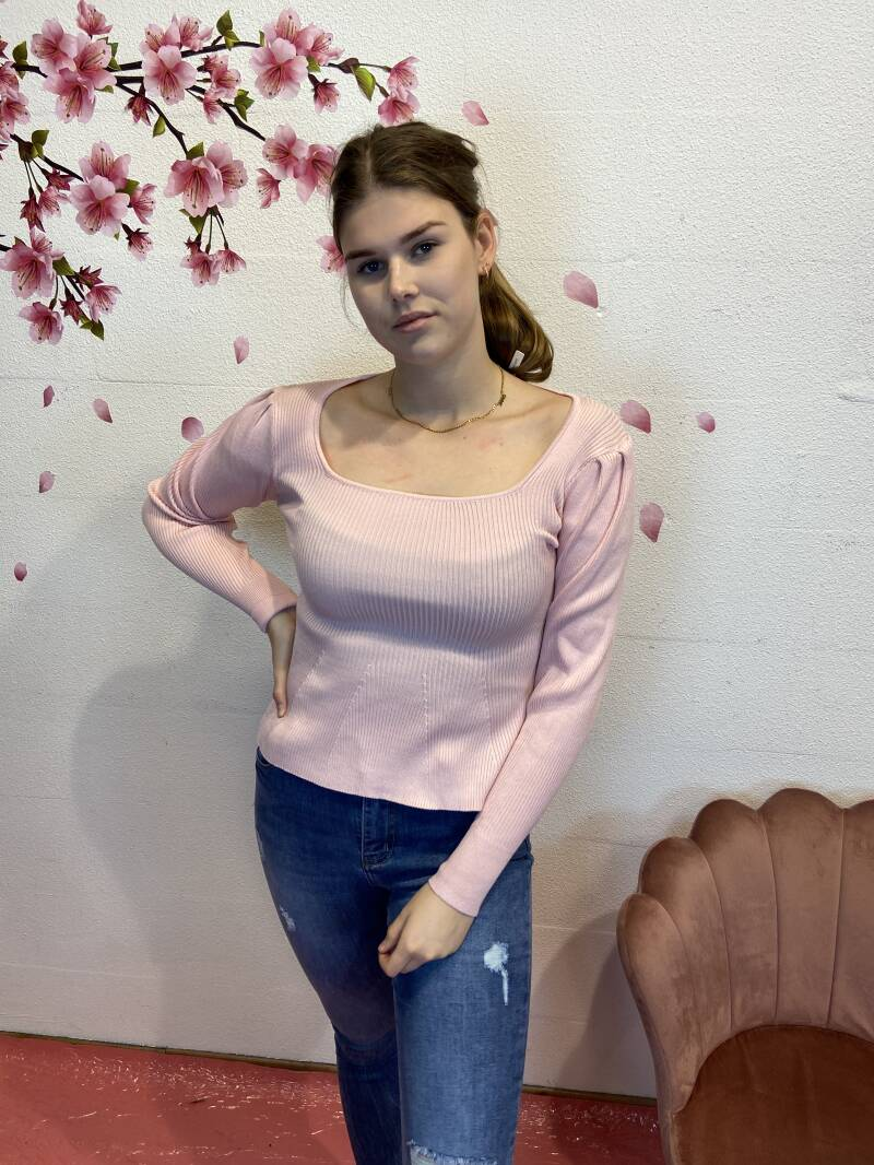 Basic roze top