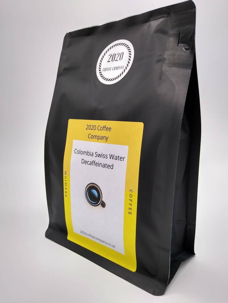 Colombian decaffeinated Coffee beans  227g