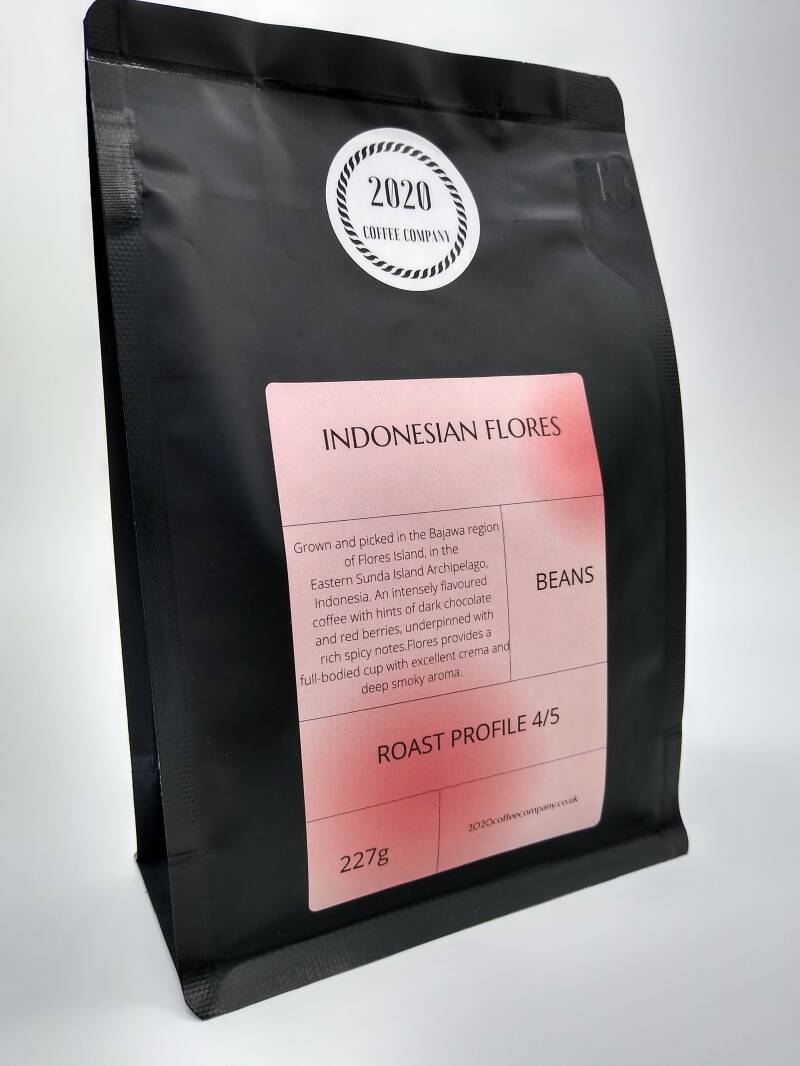 INDONESIAN FLORES COFFEE.   227G
