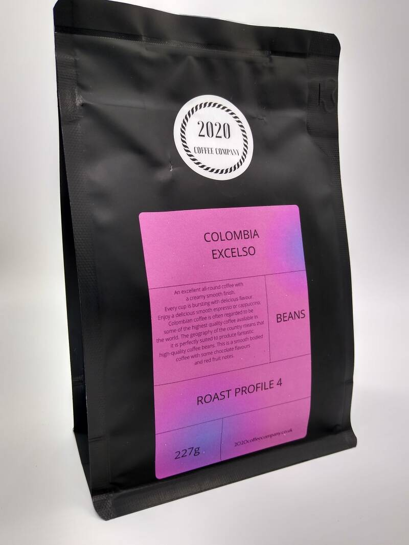 COLOMBIA EXCELSO COFFEE.  227G