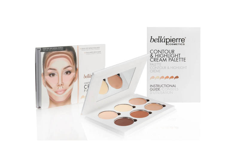 Bellapierre - Contour & Highlight CREAM Palette