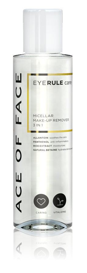 Ace of Face - Eyerule Care Micellar Make-up Remover