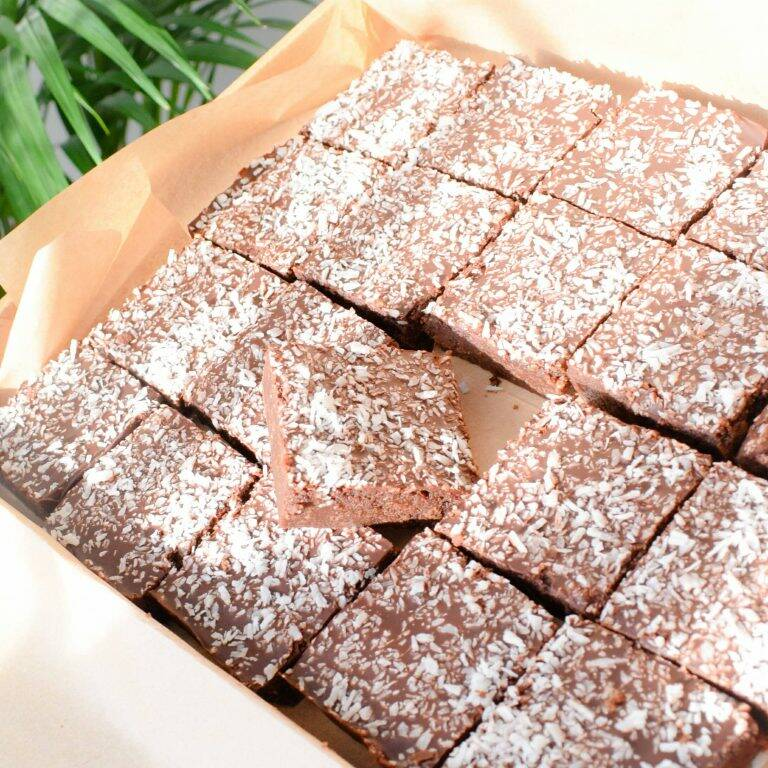 Bio Vegan Choco Coco Brownies