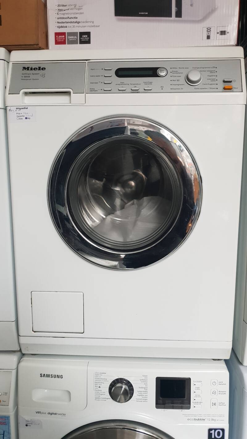 Miele wasmachine Softcare system V5849 A+++ 7kg