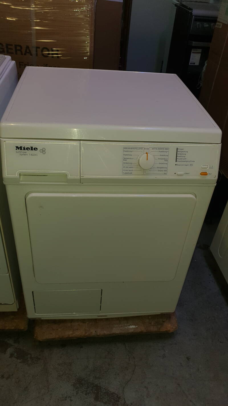 MIELE Softcare system condens wasdroger T 4223 c
