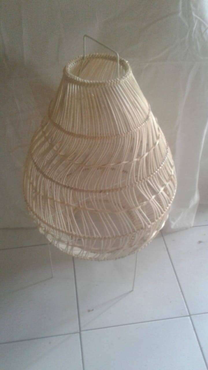 Floorlamp Bola solak natural Medium