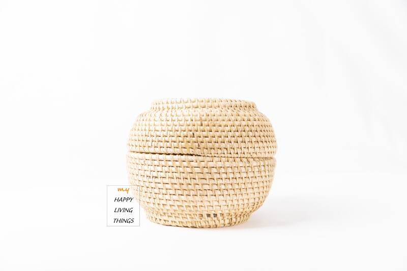 Basket rattan MINI Natural