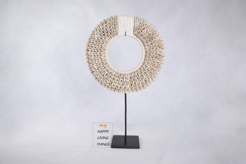 Shell tribal necklace - L
